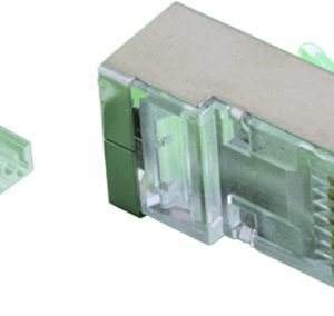Conector macho RJ45 FTP categoria 5
